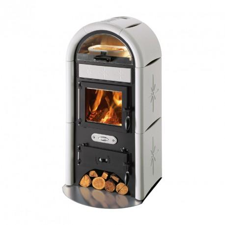 Poêle à bois CADEL - SOLE céramique - 13.9 kw