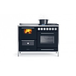 Cuisinière à bois - J.CORRADI - Moderna 121 LGE