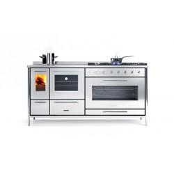 Cuisinière à bois - J.CORRADI - Moderna 180 LGE