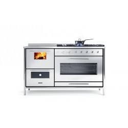 Cuisinière à bois - J.CORRADI - Moderna 151 LGE